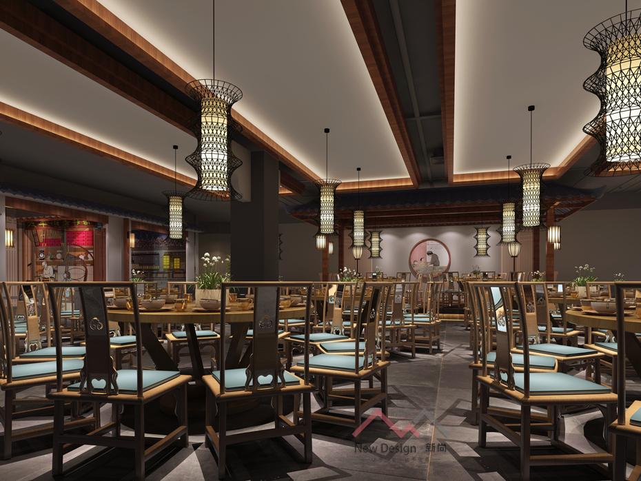 新中式餐飲空間設計