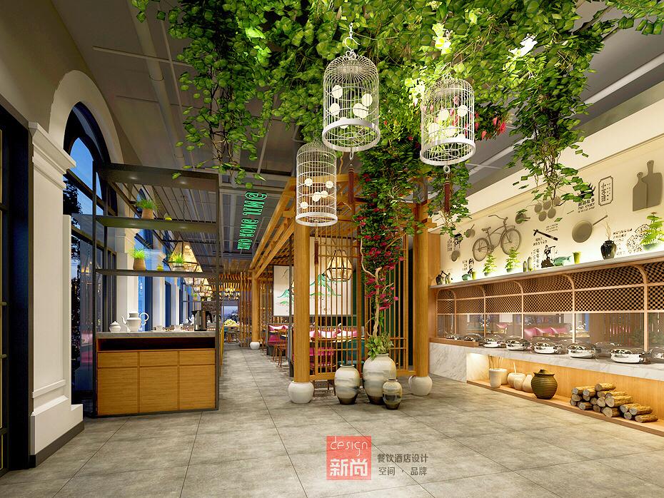 貴州小容璟餐飲品牌空間設計